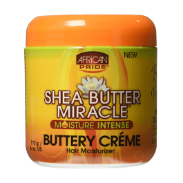 African Pride Shea Butter Miracle Moisture Intense Buttery Creme 170gr
