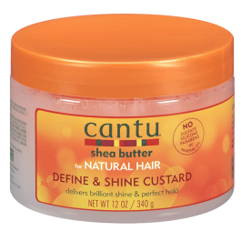 Cantu Shea Butter Define & Shine Custard 340gr