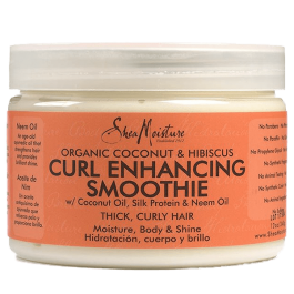 Shea Moisture Coconut & Hibiscus Curl and Shine Curl Enhancing Smoothie 340gr