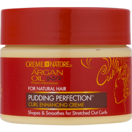 Creme Of Nature Argan Oil Pudding Perfection Curl Cream 326g