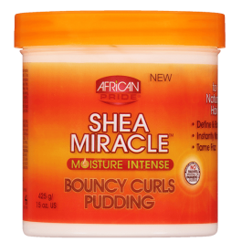 African Pride Shea Miracle Bouncy Curls Pudding 425gr