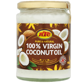Óleo de Coco 100% Virgem – KTC 100% Virgin Coconut Oil 500gr
