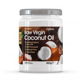 Óleo de Coco 100% Virgem – Optima Organic Raw Virgin Coconut Oil 453gr