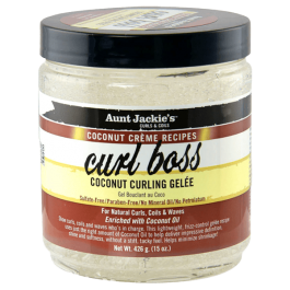Aunt Jackie's Coconut Creme Recipes Curl Boss Coconut Curling Gelée 426gr