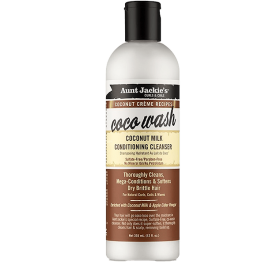 Aunt Jackie's Coconut Creme Recipes Coco Wash Cleanser 355ml