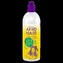 Estilo Afro Hair Argan e Linhaça Creme de Pentear 500gr