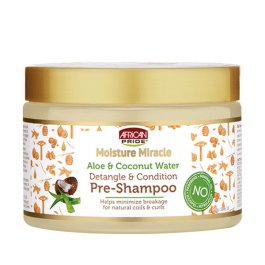 African Pride Moisture Miracle Aloe & Coconut Water Pre-Shampoo 340gr