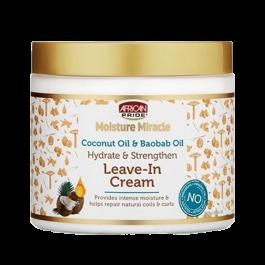 African Pride Moisture Miracle Coconut Oil & Baobab Oil Leave-In Cream 425ml