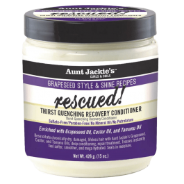 Aunt Jackie's Grapeseed Style & Shine Recipes Rescued Recovery Conditioner 426gr