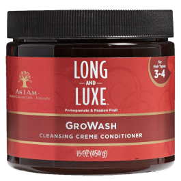 As I Am Long & Luxe GroWash Conditioner 454gr