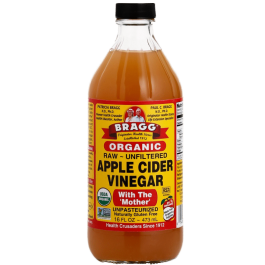 Bragg Organic Raw Apple Cider Vinegar (Vinagre de Maçã Orgânico) 473ml