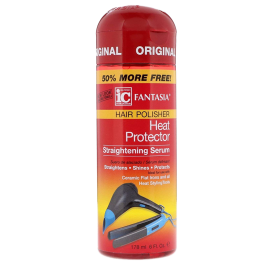 Fantasia IC Hair Polisher Heat Protector Straightening Serum 178ml