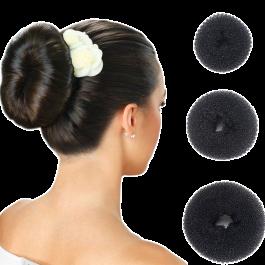 Donut para Cabelo (Hair Donut Bun)