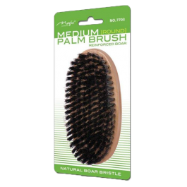 Escova de Cerdas de Javali Médias Oval da Magic Collection (Boar Bristles Brush) Mo.7703