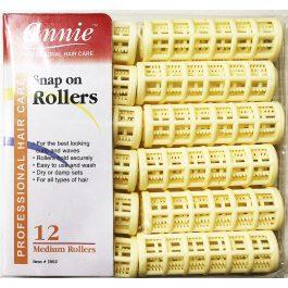 Rolos de Cabelo Snap On Rollers