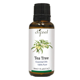 Óleo Essencial de Tea Tree 100% Puro (Árvore-do-chá) – Difeel 30ml