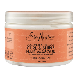 Shea Moisture Coconut & Hibiscus Curl And Shine Hair Masque 340gr